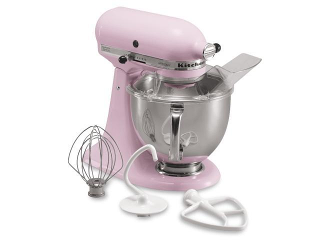 KitchenAid KSM150PSPK Artisan Tilt-Head 5-Quart Stand Mixer Pink