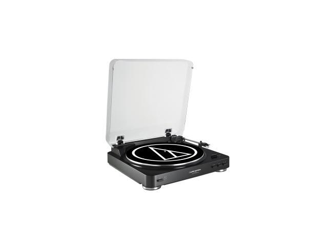 Audio-Technica AT-LP60bk Fully Automatic Stereo Turntable System,Black