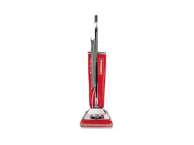 Eureka SC886E Quick Kleen Commercial Vacuum w/Vibra-Groomer II, 17.5 lbs, Red