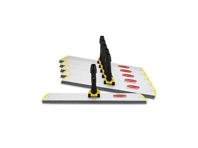 Rubbermaid Q570 18in Quick-Connect Squeegee Frame for Wet/Dry Microfiber Mops