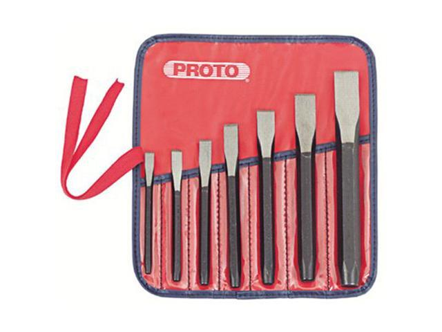 Proto 577-86B Cold Chisel Sets - 7 Pieces