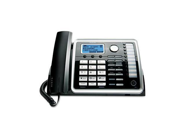 Rca 25215 ViSYS Two-Line Corded Speakerphone with Digital Answering System