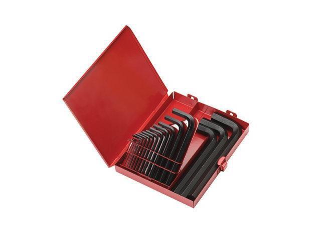 Eklind Tool 269-10118 18Pc. Inch L-Wrench Hexkey Set Short Arm W