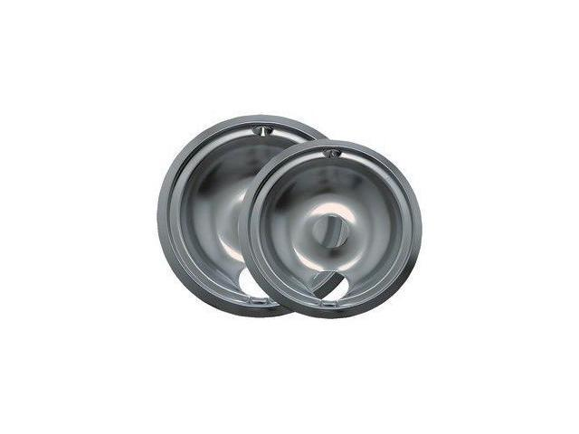 Range Kleen 139402Xcd5 Chrome Drip Pans - Plug-In Ranges; Fits Most Ge , Hotpoint , Kenmore & Rca