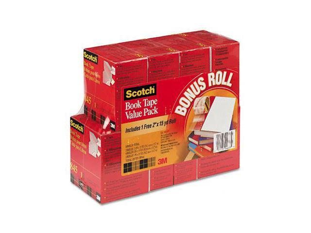 3M 845VP Book Repair Tape 8-Roll Multi-Pack  15-Yard Rolls  3   Core