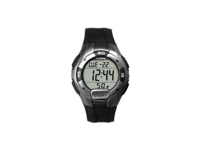 MedCenter 5 Alarm Sport Reminder Digital Watch with 5 Alarms, Chronograph