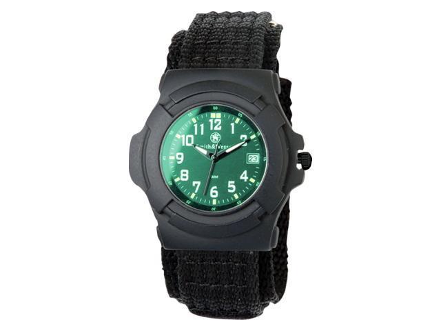 Smith & Wesson SWW-11B-GLOW Lawman Black Nylon Strap Watch