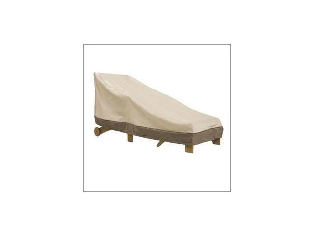 Classic Accessories 78952 Patio Chaise Cover - Tan Trim