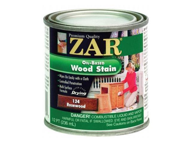 United Gilsonite Half Pint Rosewood Zar Oil Based Wood Stain  12406
