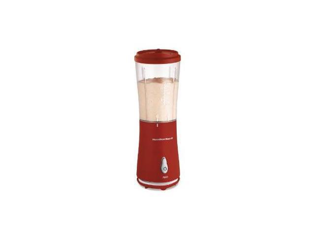 Hamilton Beach 51101R Single-Serve Blender with Travel Lid - Red