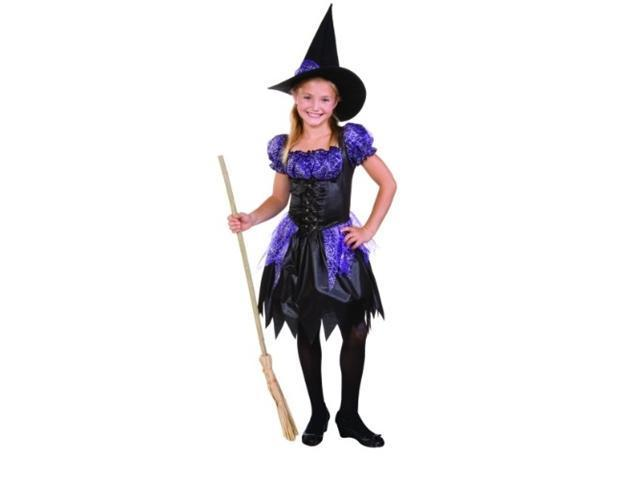 RG Costumes 91284-M Sparkle Witch Child Costume - Size M