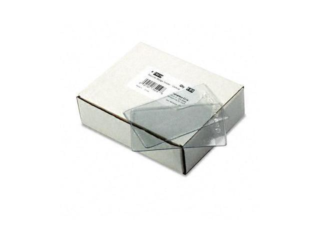 Advantus 75419 Security ID Badge Holder  Vertical  50 Per Box