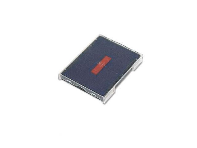 US Stamp P4729BR Trodat T4729 Dater Replacement Pad  1-9/16w x 2d  Red/Blue