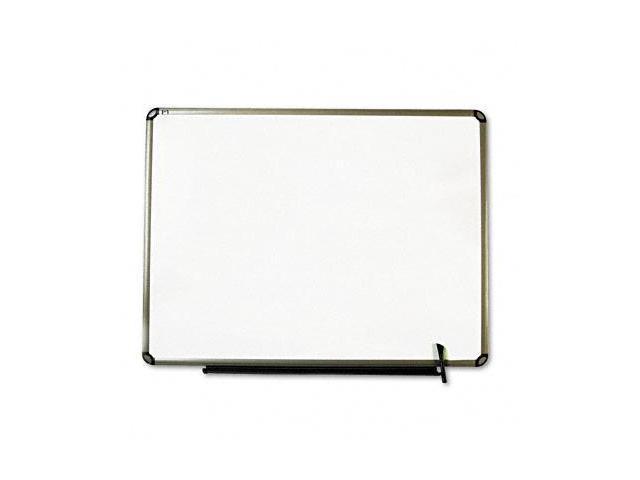 Quartet TE564T Total Erase Marker Board  48 x 36  White  Euro-Style Aluminum Frame
