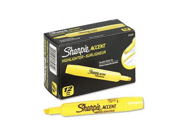 Accent Tank Style Highlighter Chisel Tip Yellow Dozen