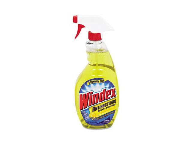 Windex CB701380 Antibacterial Multi-Surface Cleaner- 32 oz. Spray Bottle