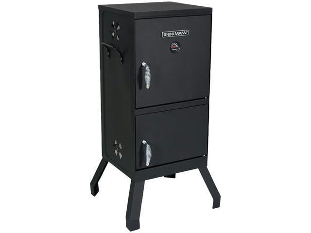 Brinkmann 810-5502-W Square 2-Door Vertical Charcoal Smoker