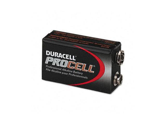 Duracell PC1604BKD Procell Alkaline Battery- 9V- 12/Box