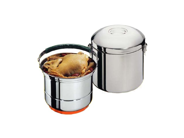 "Sunpentown CL-033 8"" Stainless Steel Stove-Top Thermal Cooker"