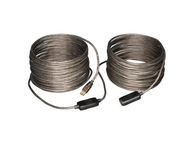 Tripp-Lite U026-20M Cable 20-Meter-65 ft. USB2.0 A-A Hi-Speed Active Extension-Repeater Cable