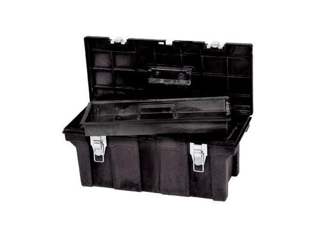 Rubbermaid Commercial 640-7804-00-BLA 36 Inch Durable Tool Box Black