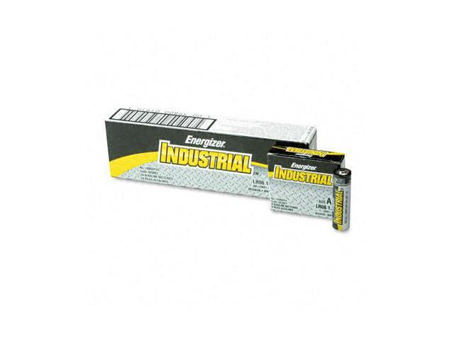 Eveready EN91 Industrial Alkaline Batteries  AA  24 Pack