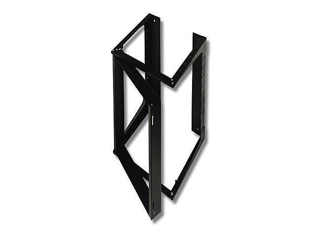C2G 19735 APW SWING OUT WALL MOUNT RACK BLACK 20u x 18in