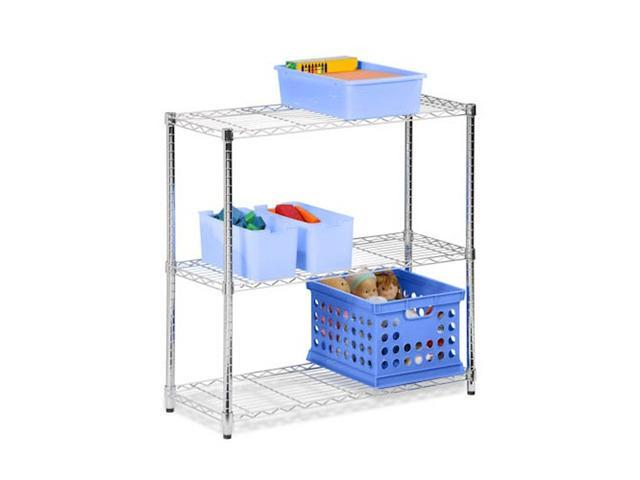 Honey Can Do SHF-01903 3 tier chome shelving unit- 250lb