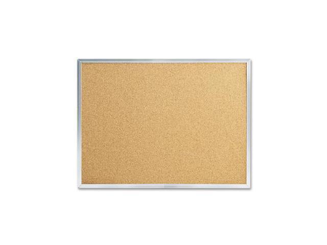 Quartet S731 Cork Bulletin Board, 24 x 18, Aluminum Frame