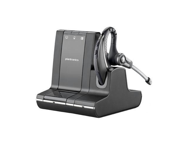 Plantronics Savi W730-M Multi Device Wireless Over-the-Ear Headset System  (84002-11)