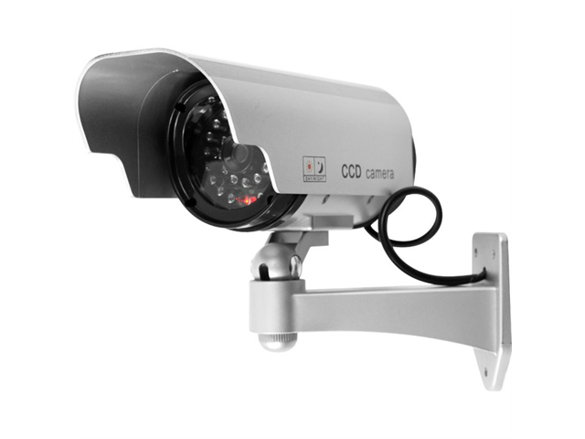 Trademark Poker 72-HH659-2 2 Security Camera Decoy with Blinking LED & Adjustable Mount