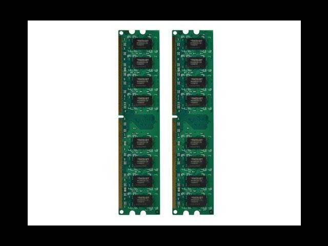 Patriot Memory DDR2 8GB (2 x 4GB) PC2-6400 (800MHz) DIMM Kit - 8 GB - DDR2 SDRAM - 800 MHz DDR2-800/PC2-6400 - 1.80 V - Non-ECC - Unbuffered - 240-pin - DIMM