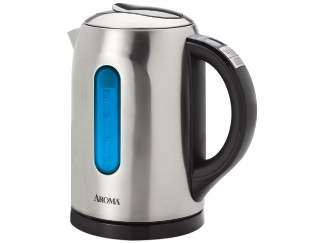 6 Cup Electric Water Kettle SS
