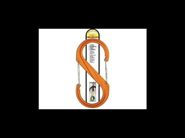 Nite S-Biner No.10 Orange Plastic Carabiner