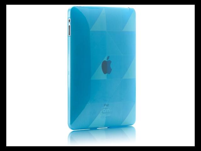 Case-Mate Gelli CM011194 TPU Case Form Fit Design for iPad Blue