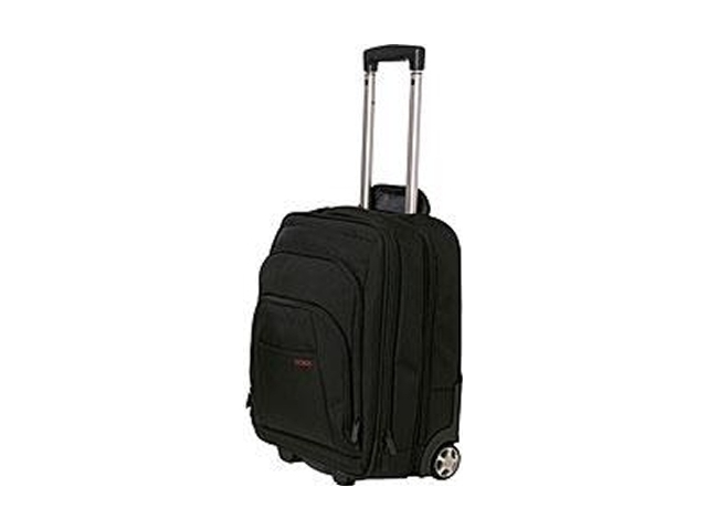 "Codi Mobile max Carrying Case (Roller) for 17.3"" Travel Essential - Black - Nylon"