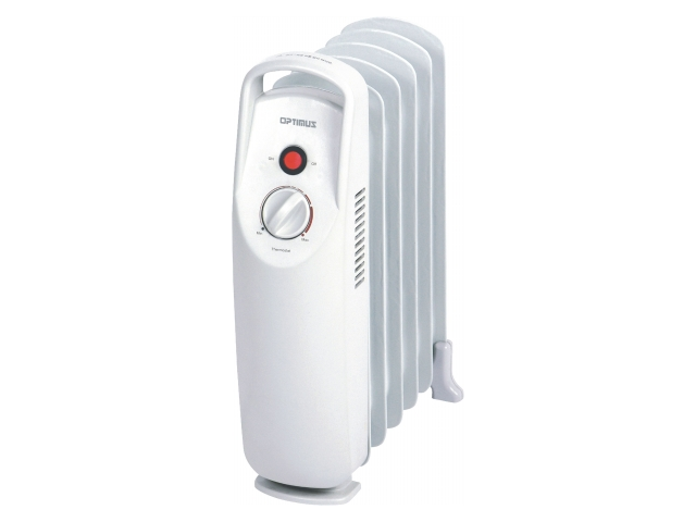 Optimus Heater Mini Portable Oil Filled Radiator 500W - H6002