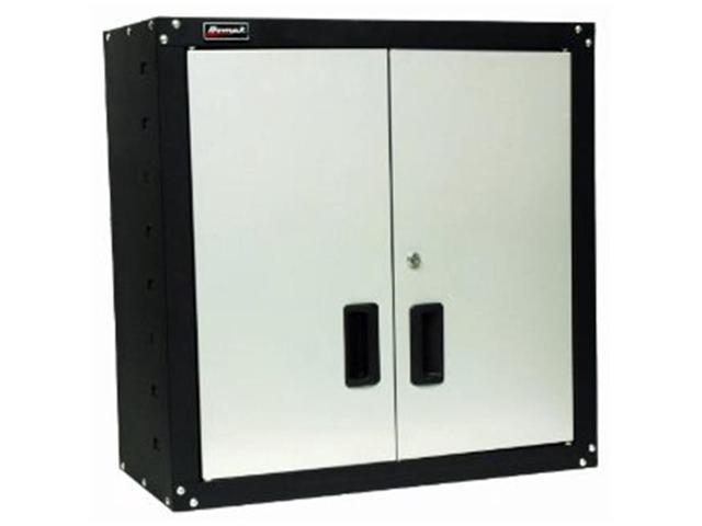 Homak Gs00727021 Steel 2 Door Wall Cabinet With 2 Shelves