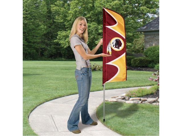 Party Animal Redskins Swooper Flags - United States - Washington - 42