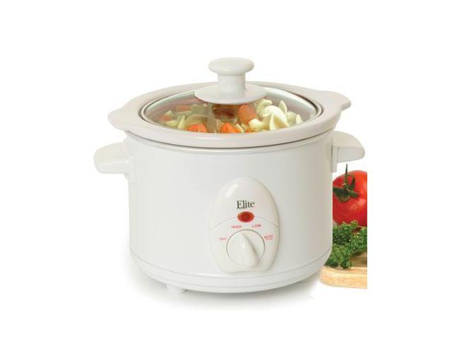 Maxi Matic Elite MST-250XW 1.5Qt Mini Slow Cooker