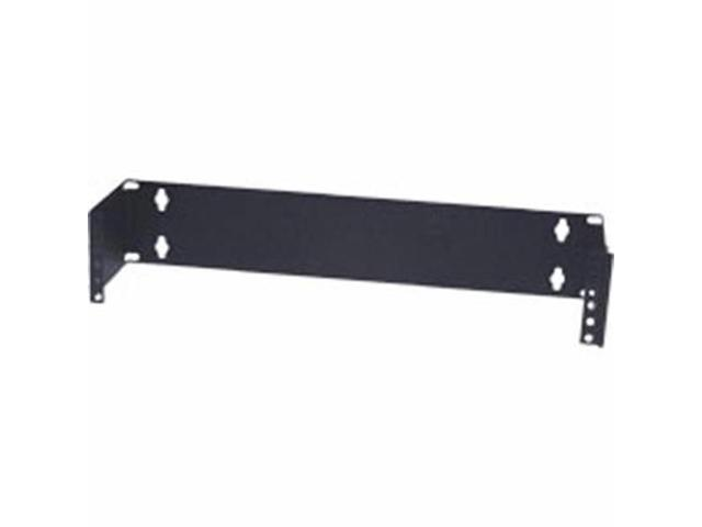 APW Mini-Max 1u (1.75in) Wall mount Patch Panel Bracket (6in deep) - Black