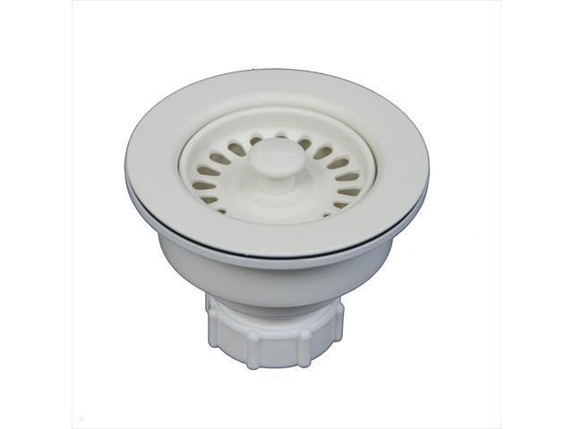 Blanco America 441097 3.5 in. Sink Waste Flange in Biscuit