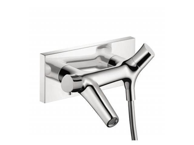 Hansgrohe 12410001 Starck Organic 2-Handle Thermostatic Valve Trim Kit in Chrome - Valve Not Included