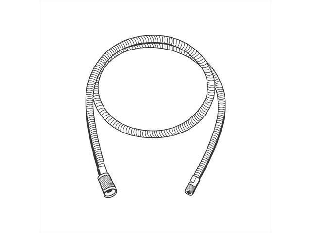 grohe america 46092000 starlight chrome replacement hose grohe 46 092 000 pull out spray replacement hose
