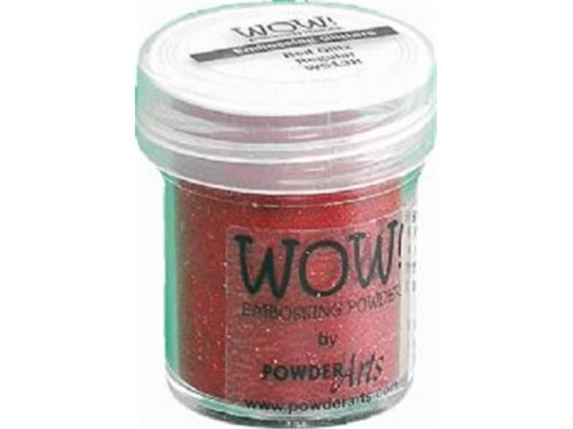 Wow Embossing Powder WOW-WS13R 15ml-Red Glitz