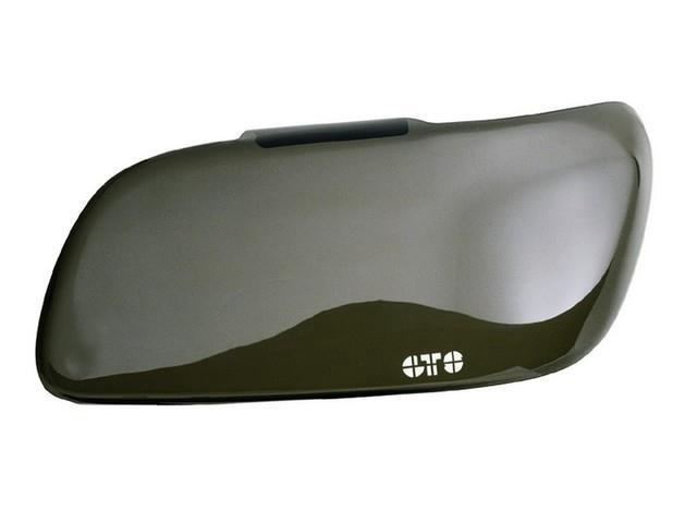 GT Styling GT0772S Headlight Covers Headlight Covers; Smoke; 2 pc.;