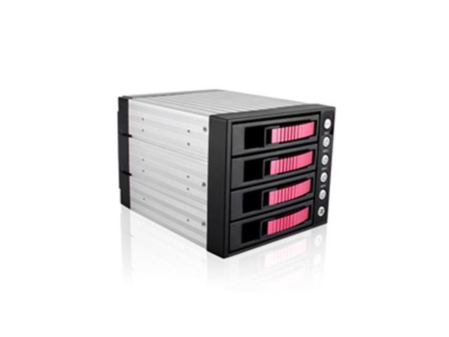 "iStarUSA BPU-340SATA-RED 3x5.25"" to 4x3.5"" SAS/SATA 6.0 Gb/s Hot-Swap Cage  - OEM"