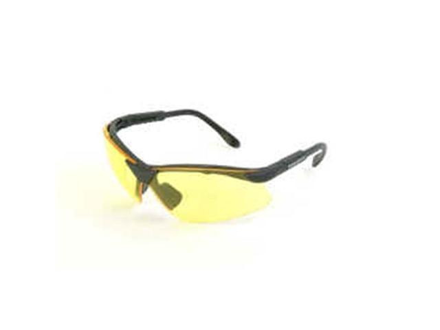 Radians Revelation Shooting Glasses, Amber Yellow Lenses w/ Adjustable Temples R