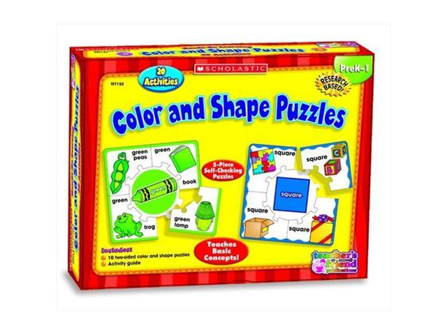Scholastic 086276 Hands-On Learning Colors And Shapes