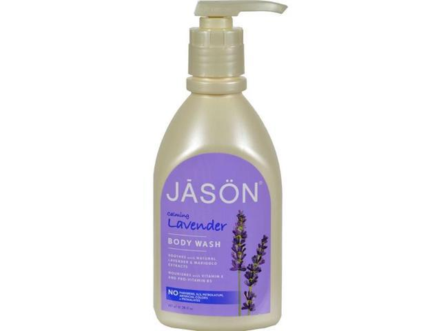 Jason Natural Products HG0576165 30 fl oz Body Wash Pure Natural Calming Lavender
